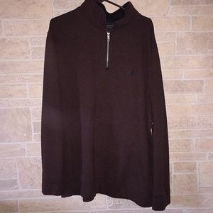 Men's Nautice quarter zip sweat shirt